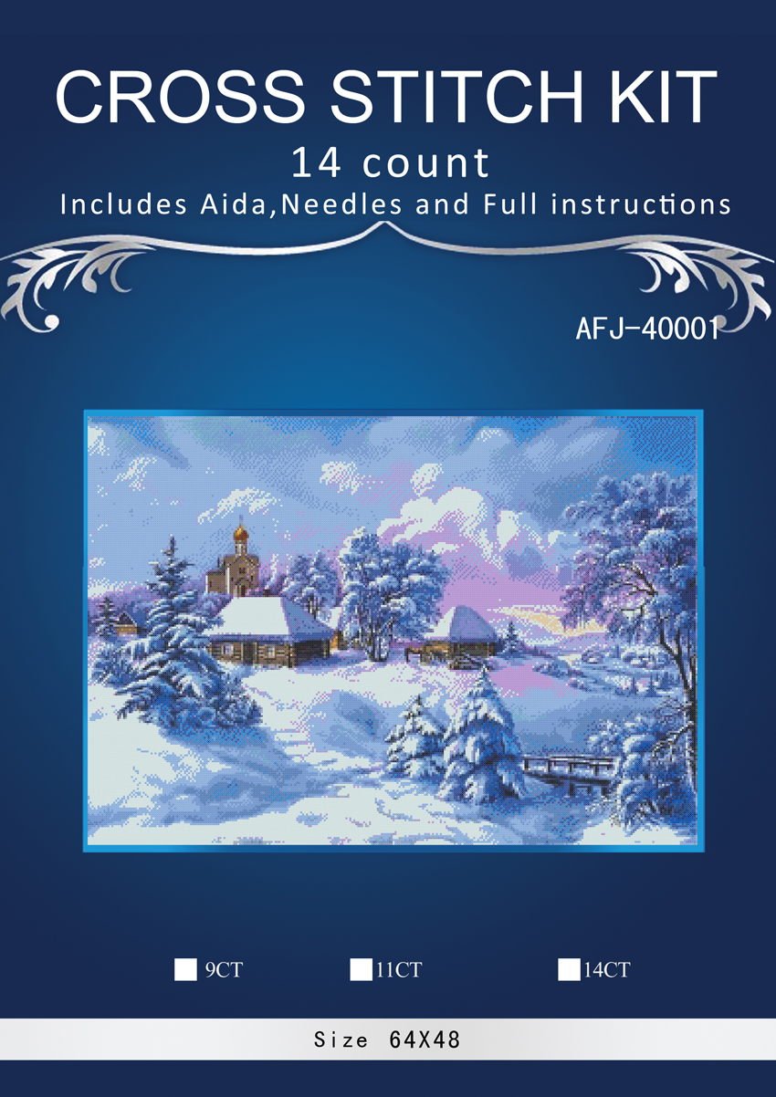 Home & Garden 1snowing Counted Cross Stitch 14ct Cross Stitch Set Chinese Cotton Cross-stitch Kit Embroidery Needlework Similar Dim Anchor Refreshing And Enriching The Saliva Cross-stitch