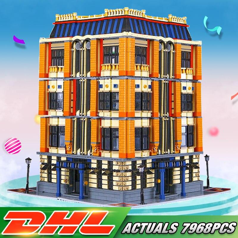DHL gratuite Nouveau 7968 Pcs Véritable Série MOC La Apple L'université Ensemble Blocs de Construction Briques Éducatifs Pour Enfants Jouets