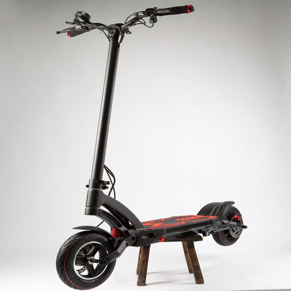 2019 nouveau DESIGN Kaabo Mantis e-scooter unique moteur 48 V 13Ah 500 W motoréducteur électrique scooter