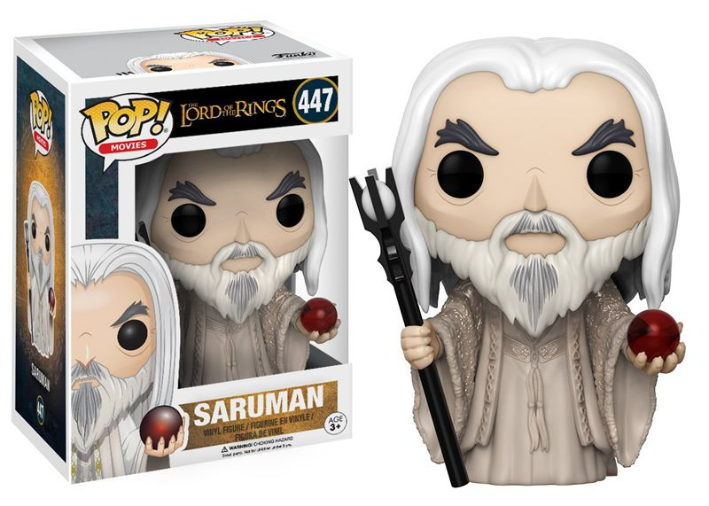 Funko pop Official The Lord of the Rings - Saruman Vinyl Action Figure Collectible Model Toy with Original Box  funko pop official marvel doctor who dalek vinyl action figure collectible model toy with original box