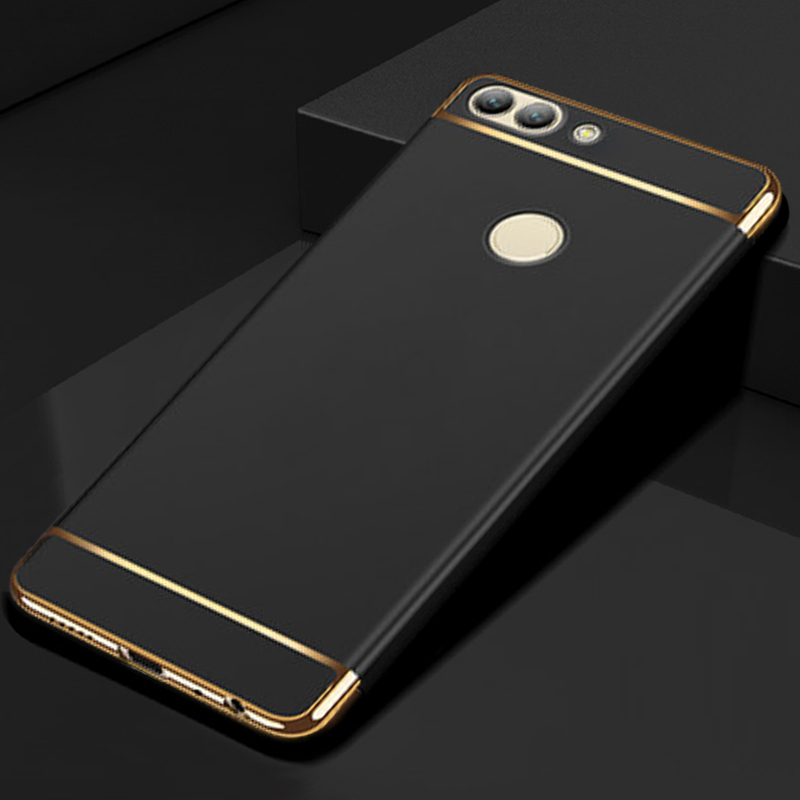 YUETUO hard battery back covers,etui,coque,cover,case for huawei p smart psmart enjoy 7s protector original phone accessories