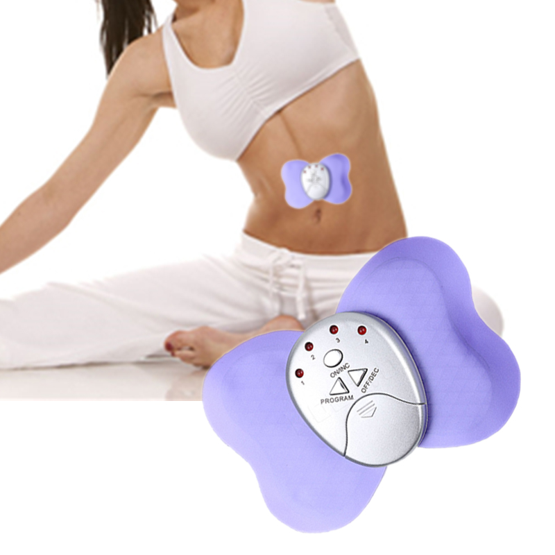 Portable Mini Body Slimming Muscle Butterfly Massager Electonic Health Care Lose-weight Massager Muscle Body Slimming Massager