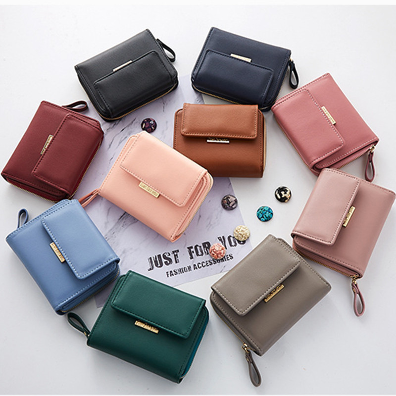 Wallet Luxury Brand Famous Mini Womens Wallets And Purses Short Female Coin Purse Credit Card Holder Leather Small Women