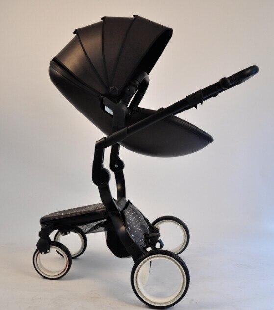 Doux bebe finfin hot mima mom spacewalk sky visor Two way can lie can sit folding shock absorber high landscape baby stroller
