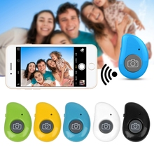 Shutter Release Bluetooth Wireless Bluetooth Selfie Shutter Button Remote Control For Smart