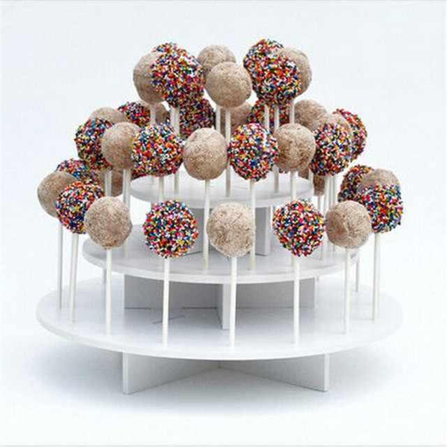 100 Stucke Pop Sucker Sticks Kuchen Kunststoff Am Stiel Lollipop