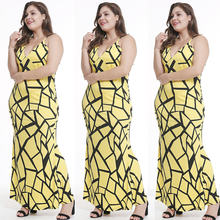 Mc 27495 Летняя женская одежда Европейское и американское платье