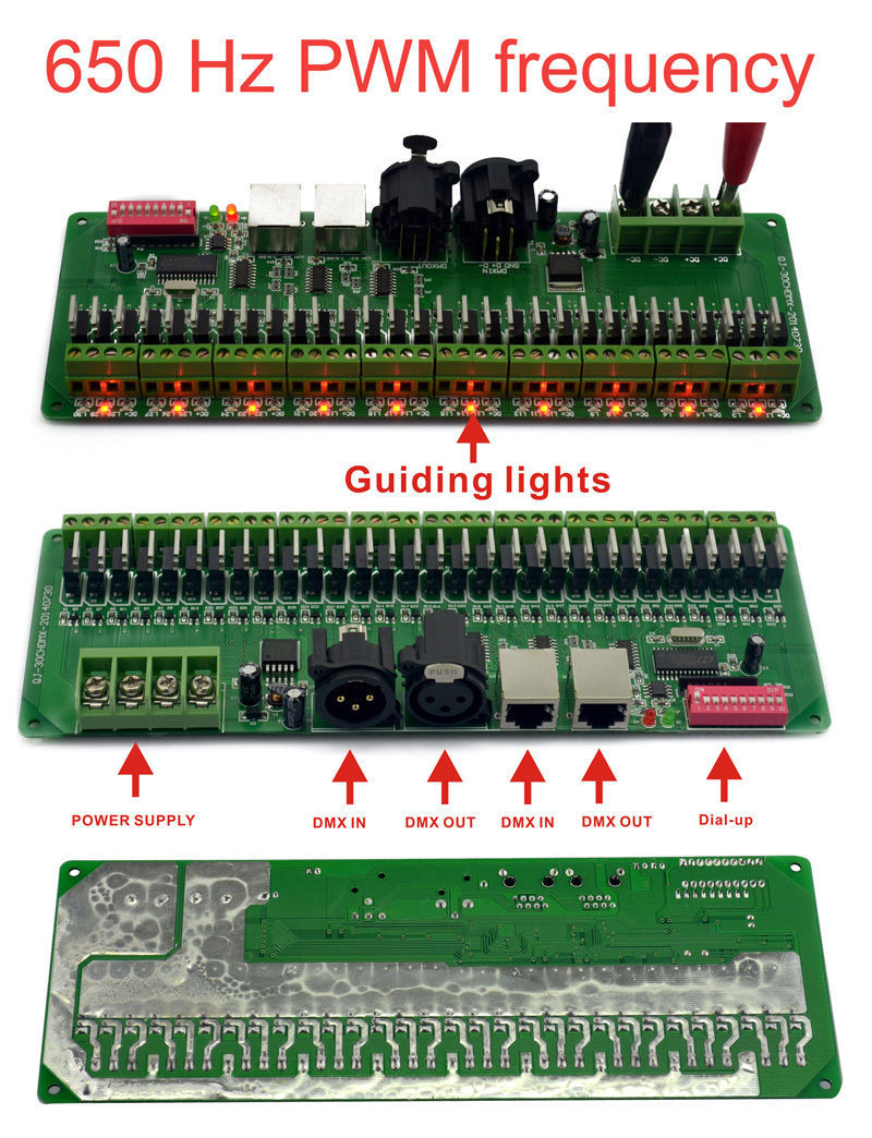 30CHANNEL  30CH EASY DMX LED controller DMX decoder driver RGB led  controller China Compare Prices on Rgb Led Controller  Online Shopping Buy Low  . Tek Lighting Technology Co Ltd. Home Design Ideas