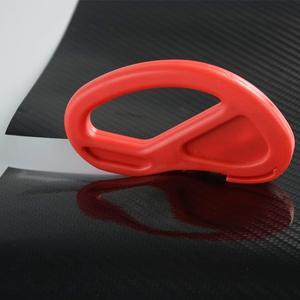 Image 5 - Ferramentas de raspagem do carro, 4 pçs/set envoltório de vinil ferramentas de raspar o veículo, kit de instalação de cortador, faca, estilização do carro, acessórios