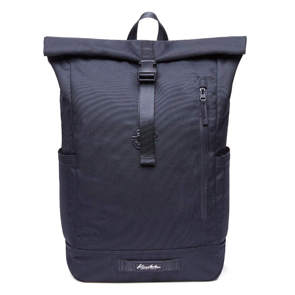 все цены на Backpack with Top Folding Cotton Canvas Backpack Vintage Water-repellent Flexible travel bag for Men schoolbag Women laptop bag онлайн