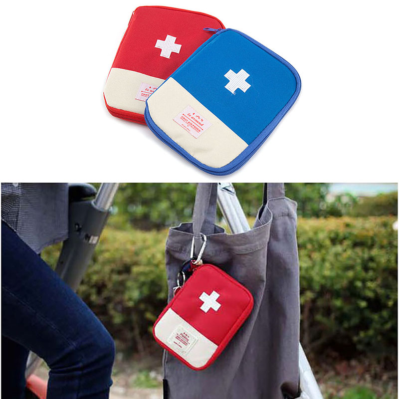 Storage Bags Portable Mini Outdoor Travel Bag First Aid Emergency Medical Kit Survival Bag Wrap Gear Hunt Travel Bag Small Medicine Kit Good Taste