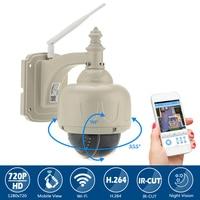 Wanscam Outddor Waterproof Wifi IP Camera HD 720P IP Camera Wireless IR CUR 1 0MP PTZ
