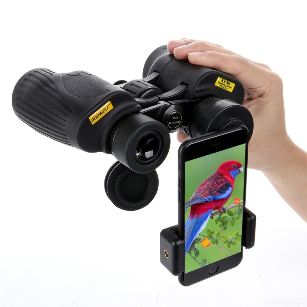Borwolf Binoculars 8X36 Hight Definition waterproof Military Telescope for Bird watching Hiking Hunting Sport