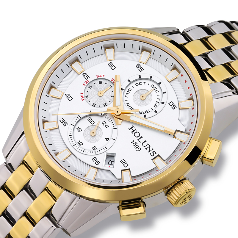 Simple Man 200m Dive Auto Wrist Watch New Fashion Mechanical Watch Men 3 Dail Design Top Brand Luxury Stainless Steel Watches-in Mechanical Watches from Watches    2