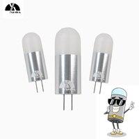 UDL 5 pcs/lot G4 LED Lampe Ampoule 2 W 3 W En Aluminium AC/DC12V/24 V Chaud/Blanc froid Remplacer Halogène