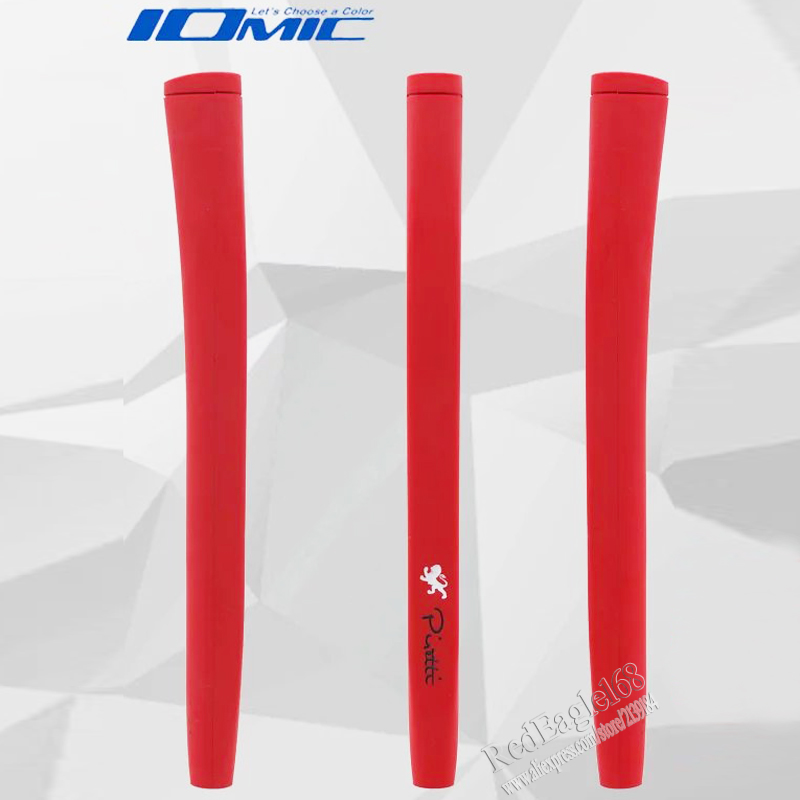 New Men Golf Grips High Quality Rubber Golf Clubs Grips Red Colors 1 Pcs/lot Putter Clubs Grips Free Shipping