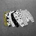 2016 Primavera menino menina dos desenhos animados calças de algodão menino outono tribo/Pineal/lobo crianças calças crianças roupas unissex bebê calças