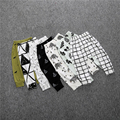 2016 Spring boy girl cartoon cotton trousers boy autumn tribe / Pineal / wolf children pants children clothing unisex baby pants