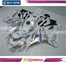 Royal Blue Repsol Customized ABS 100 Fit Guarantee CBR1000RR 2006 2007 Fairings Bodyworks For Honda Kits
