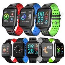 Heart Rate Blood Pressure Monitor Waterproof Bracelet T2 Smart Watch Pedometer Weather Smart Band For Xiaomi Huawei