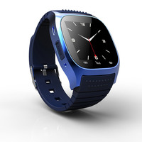 10pcs Lot 1 4 Inch M26 Bluetooth Clock Smart Watches Wearable Devices Compatible With Android System