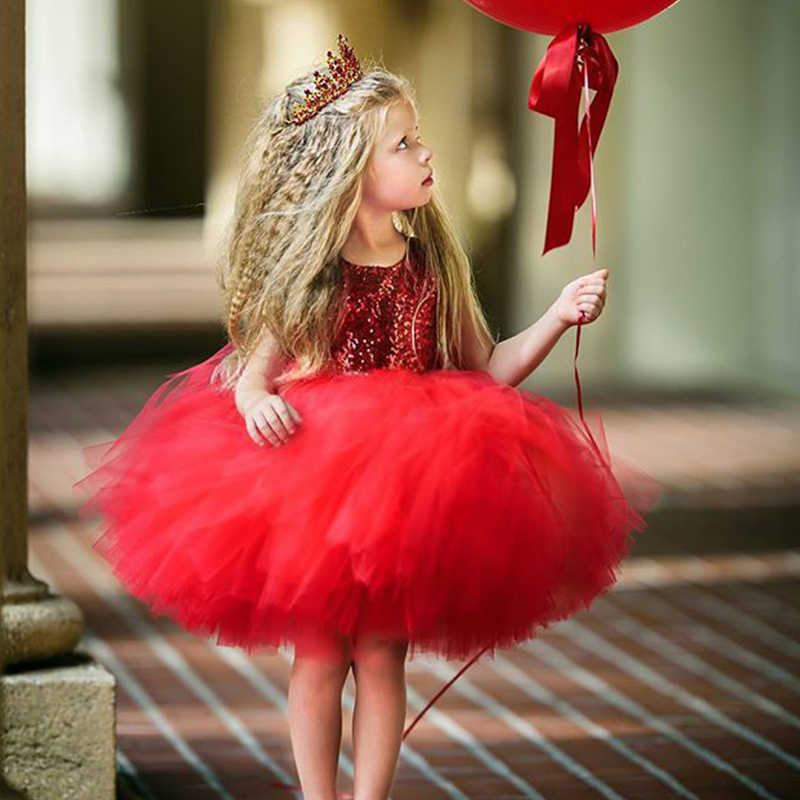 Menoea/пышные Платье принцессы для маленьких девочек детское платье-пачка с фатиновой юбкой, с открытой спиной Вечерние Платье Розовый и красный цвет бальное платье Вечерние платья наряды