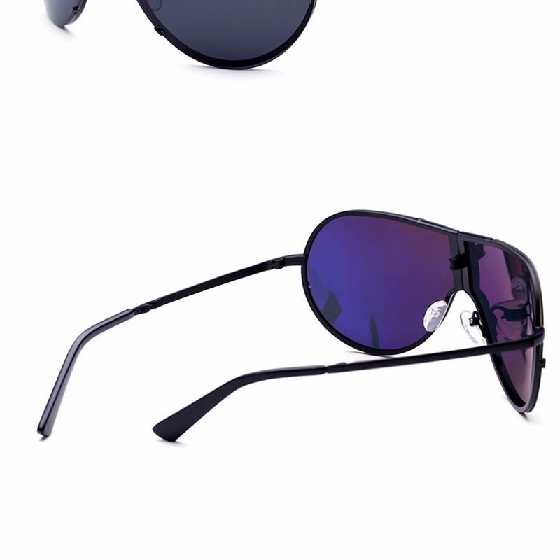 Lager Motorcycle Sunglassses Men Women Oversize Frameless Sunglasses Foldable Glasses Big Moto Goggles 8487 (3)