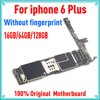 16gb / 64gb / 128gb Original unlocked for iphone 6 plus Motherboard without Touch ID,for iphone 6Plus Mainboard,Free Shipping