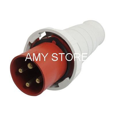 AC 63A Water Proof IP67 3P+E+N IEC309-2 Industrial Plug все цены