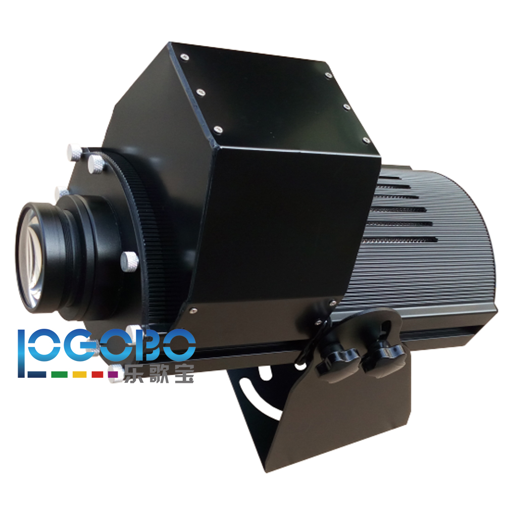 Waterproof IP65 200W Led Rotating Custom Gobo Projector Light Outdoor Logo Projector Pattern Lighting Outside Gobo Light Factory