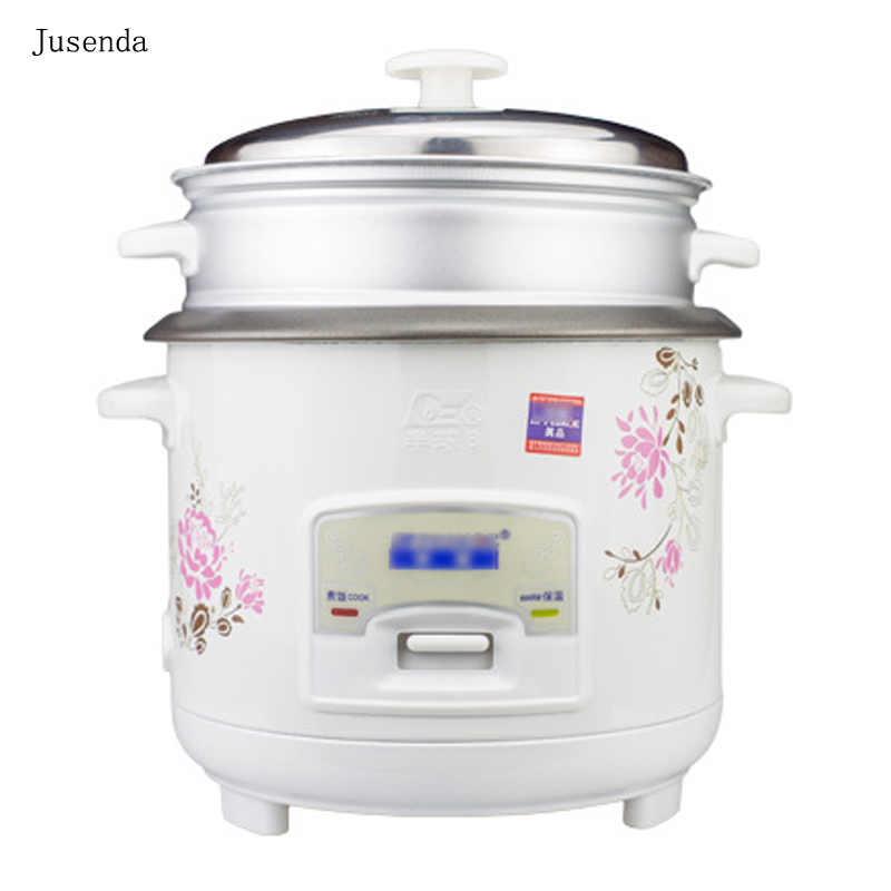 ФОТО Jusenda Small home cooking appliances 1.5L electric lunch box multi cooker Auto keep warm Small electric cooking pot 1-2 people