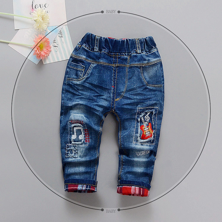 Baby Boys Jeans 2-6 Years Old Autumn Spring New Arrival Fashion Children Jeans Good Quality B008 Kids Infant Baby Boy Pant kimocat boy and girl high quality spring autumn children s cowboy suit version of the big boy cherry embroidery jeans two suits