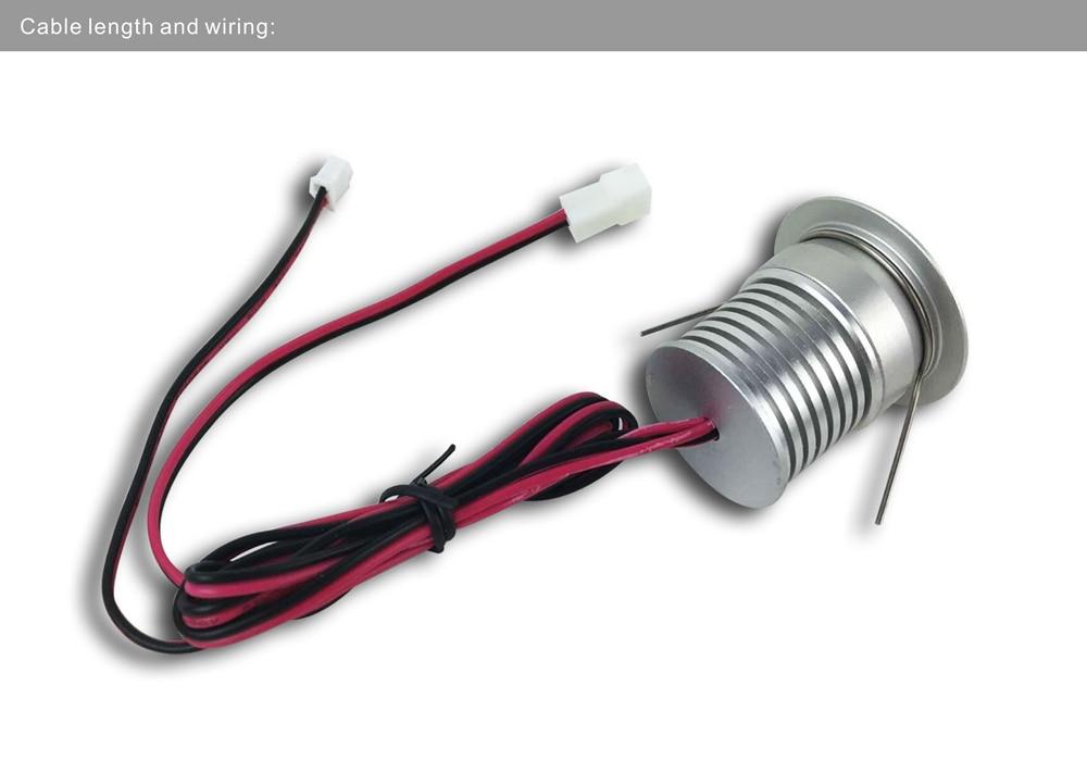 3W zatamnjena LED žarulja LED stropna svjetiljka Mala CREE ormarić - Unutarnja rasvjeta - Foto 4