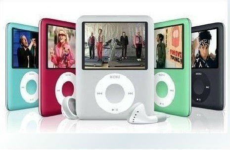 """New 8GB Slim 1.8"""" LCD 3th MP4 Player mp3 player, Video, Photo Viewer, eBook, Recorder, Free shipping+Free Gift"""