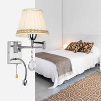 Rocker moderno comodino lampada da parete europa camera da letto studio scone asise dell'hotel luce illuminazione
