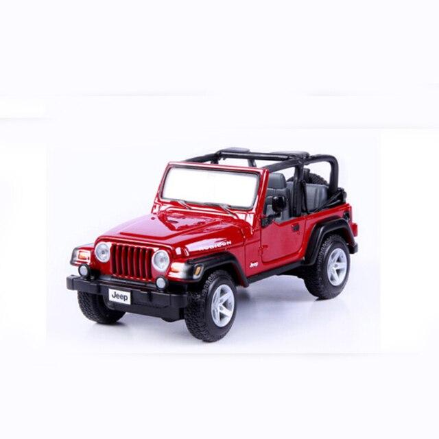 Brand Car Model For Jeep Wrangler 1 27 Alloy Cast Miniature Maisto Off