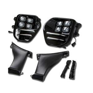 Image 2 - 12V LED DRL For KIA Sportage 4 2018 2017 2016 KX5 QL Car Daytime Running Lights 12V Day Light Driving Fog Lamp Auto Signal Lamps