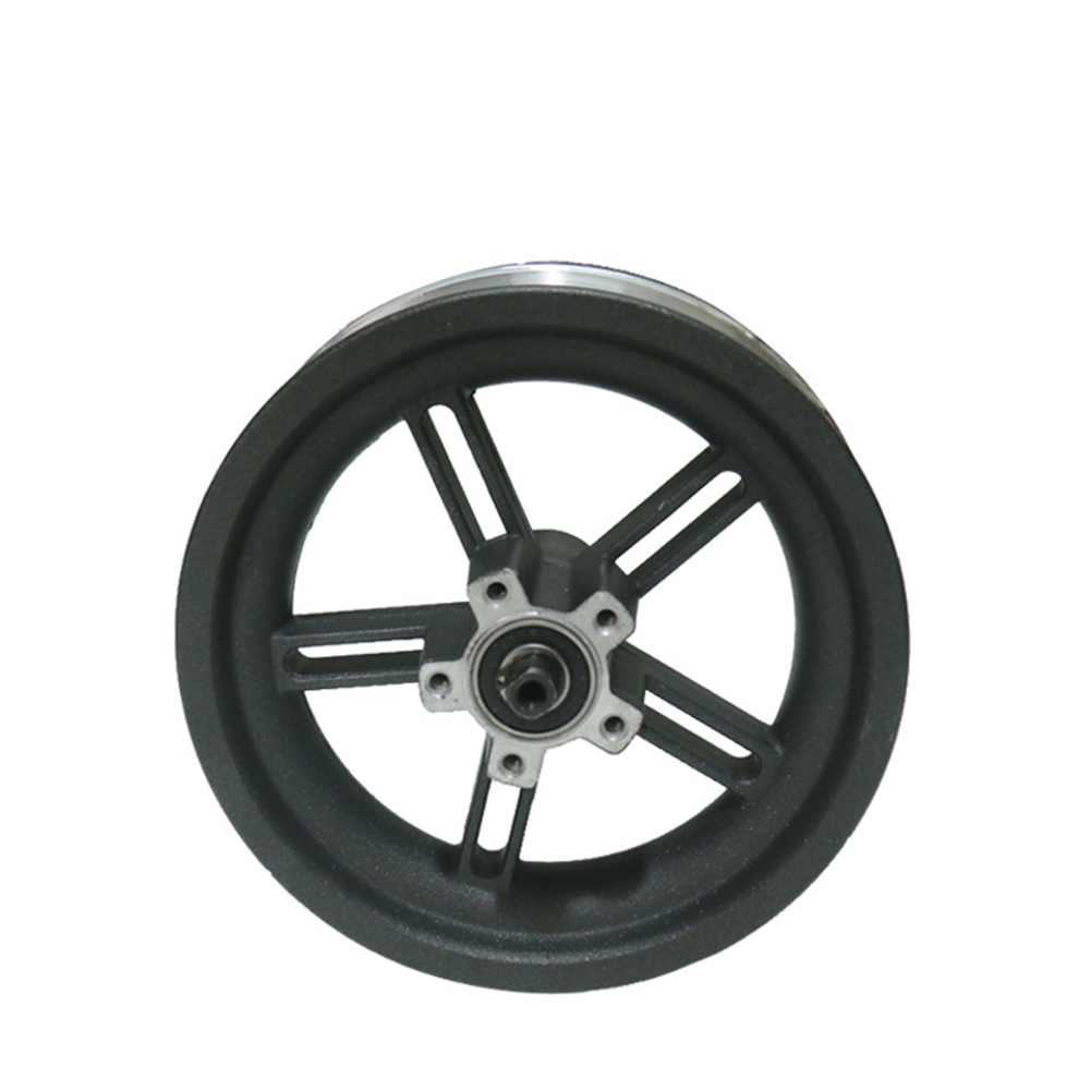 Home 8.5inch Lightweight Wheel Hub Tires Durable Aluminum Alloy Rims Black Spare Parts Easy Install For Xiaomi M365 Electric Scooter Can Be Repeatedly Remolded.
