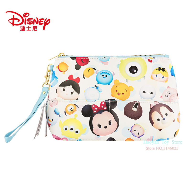 Nappy Changing Mother & Kids Ingenious Genuine Disney Mickey Mouse Multi-function Women Bags Wallet Purse Baby Care Bag Fashion Mummy Bag For Girls Gifts Hot Sale