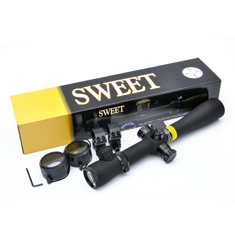 BSA OPTICS 3.5-10X40 M1 Optics Riflescope Red And Green Dot Reticle Fiber Optics Sight Long Eye Relief Rifle Scope For Hunting цена