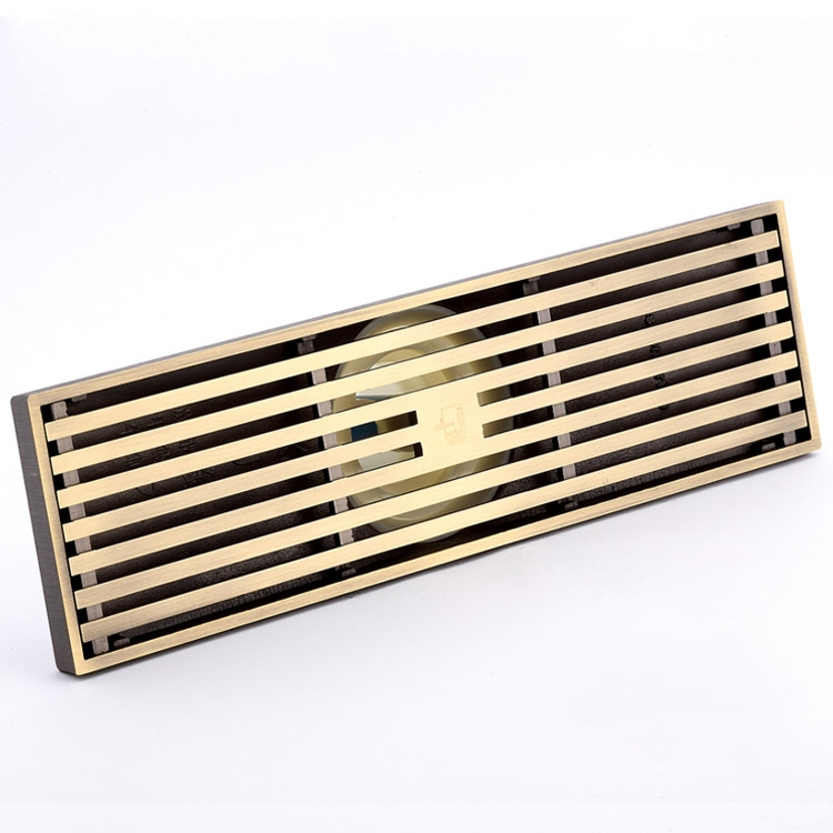 300mm Antique bronze large-traffic bathroom shower  floor waste drain,Brass Square Bath Floor Drain Shower Waste Water Drainer oil rubbed bronze square floor drain cover bathroom 4 inch waste drainer free shipping