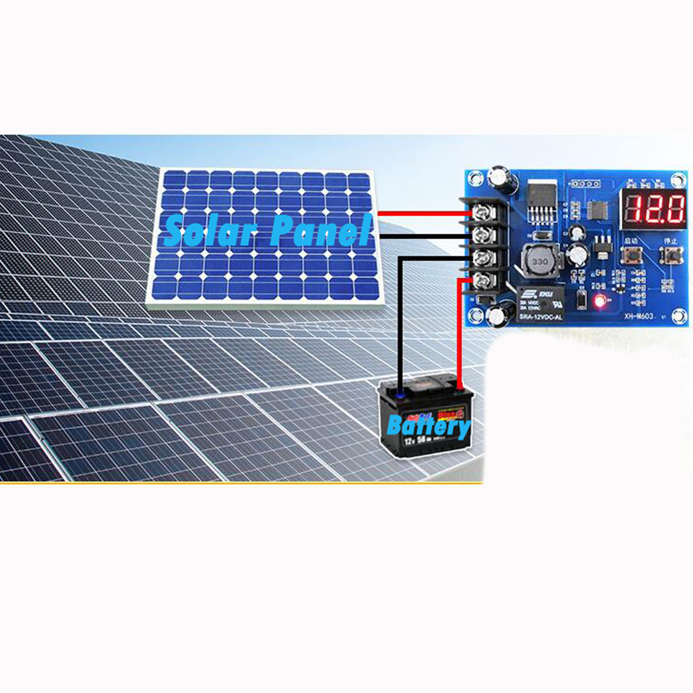 20a Generator Power Supply Solar Cells Charge Control Module For 12v On Reset M2 Hw 632 2