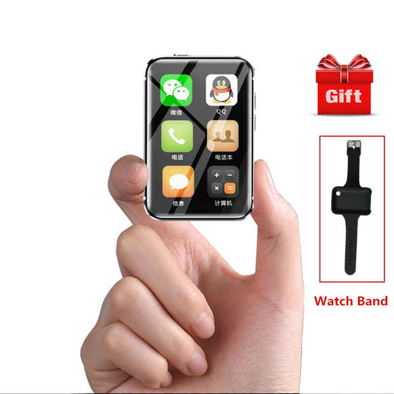 2018 Smallest watch Phone Ulcool I5S Ultra Slim Cell phones 2 2Inch Mini Screen Remote Control