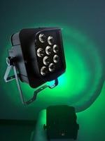 10X LOT Crux 12*15 W 5IN1 RGBAW Alimentado Por Bateria WI-FI LEVOU Par Can Para Luz Do Estágio Do Partido Do Evento Com Powercon 15 grau