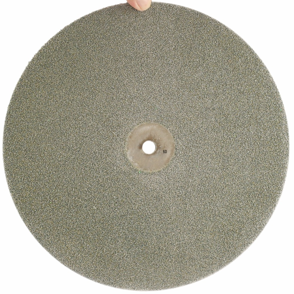 18 inch 450mm Grit 60 Coarse Diamond Grinding Disc Abrasive Wheels Coated Flat Lap Disk Jewelry Tools for Stone Glass Gemstone free shipping coarse medium fine grit 4 inch diamond turbo cup wheels m14 thread for grinding concrete and stone 3pcs set
