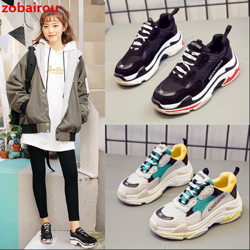 New Women Sneakers Flat Travel Shoes Ulzzang Harajuku Lace Up Platform Creepers Female Casual Flats Ladies Shoes Tenis Feminino women harajuku cartoon lace up wedges platform shoes 2015 casual shoes trifle thick soled graffiti flat shoes ladies creepers