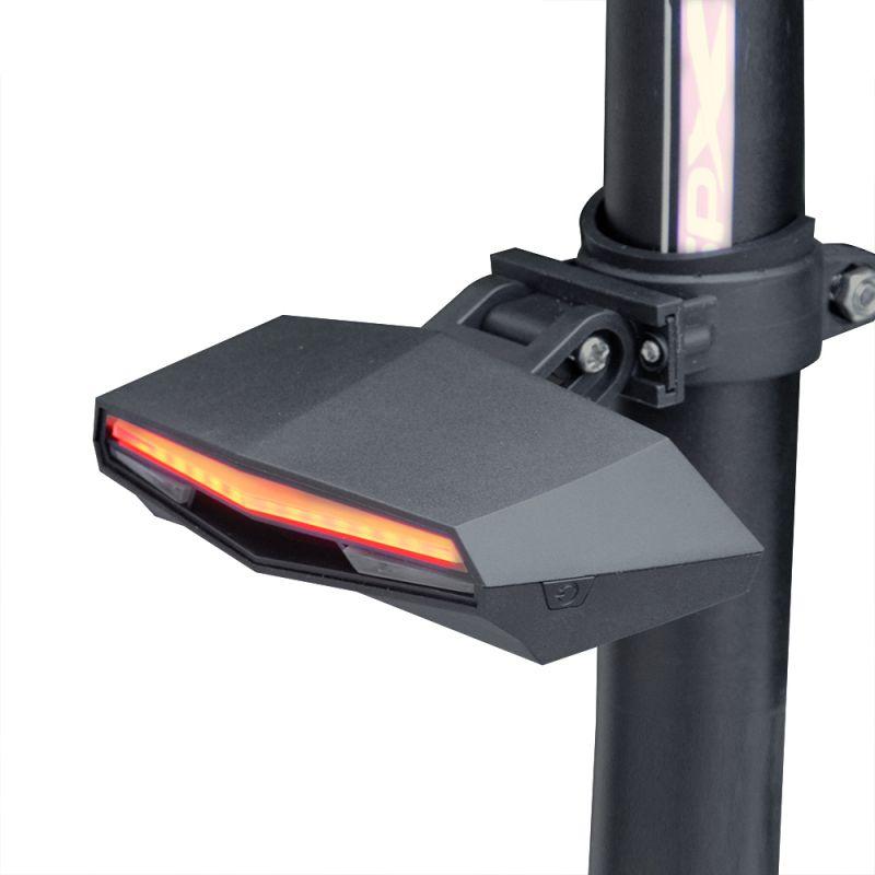 Chic Radfahren Warnung Rücklicht Fahrrad Intelligente Drahtlose Fernbedienung Nachtlicht
