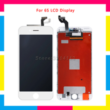 AAA high quality LCD Display Screen With Touch Screen Digitizer Assembly For iphone 6S and 6S Plus Repair Parts Free shipping high quality full lcd display touch screen digitizer assembly for htc hd2 t8585 replacement parts free shipping