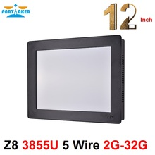 Buy 2mm Panel OEM All In One Pc With Intel Celeron 1037u 12.1 Inch Taiwan High Temperature 5 Wire Touch Screen 2G RAM 64G SSD directly from merchant!