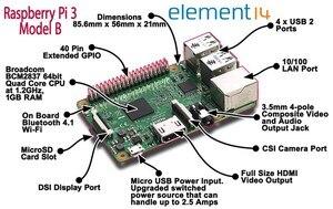 Image 4 - Raspberry Pi 3 Model B плата + 3,5 TFT Raspberry Pi3 ЖК дисплей с сенсорным экраном + акриловый чехол + радиаторы для Raspbery Pi 3 комплект